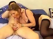 Hot stud anal fucking sexy mature and jizzing