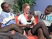 Lady Interviewes Black Guys 2
