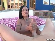 Awesome Milf Skillfully Warms Guy Up 2