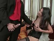 Mature Slut Hajni Is Extremely Cock Hungry 1